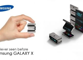 Le Samsung Galaxy X officiellement présent sur le site !