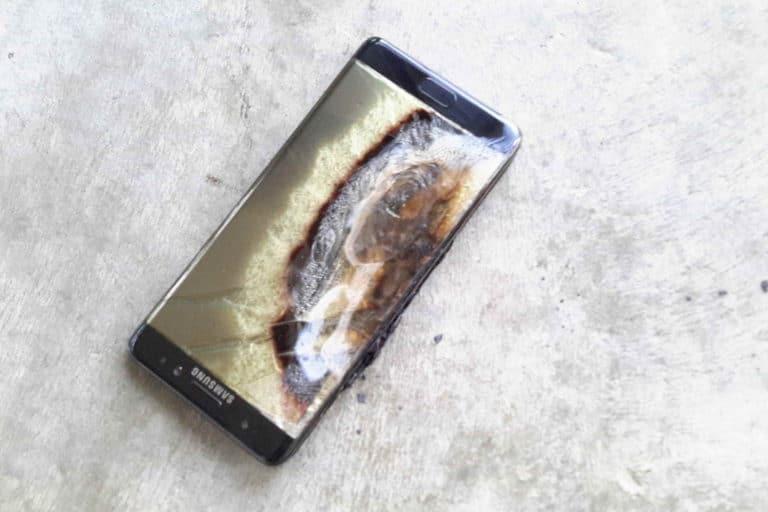 Samsung Galaxy Note 7 qui a explosé - Smartphone : des chercheurs ont trouvé la raison de l'explosion de certaines batteries