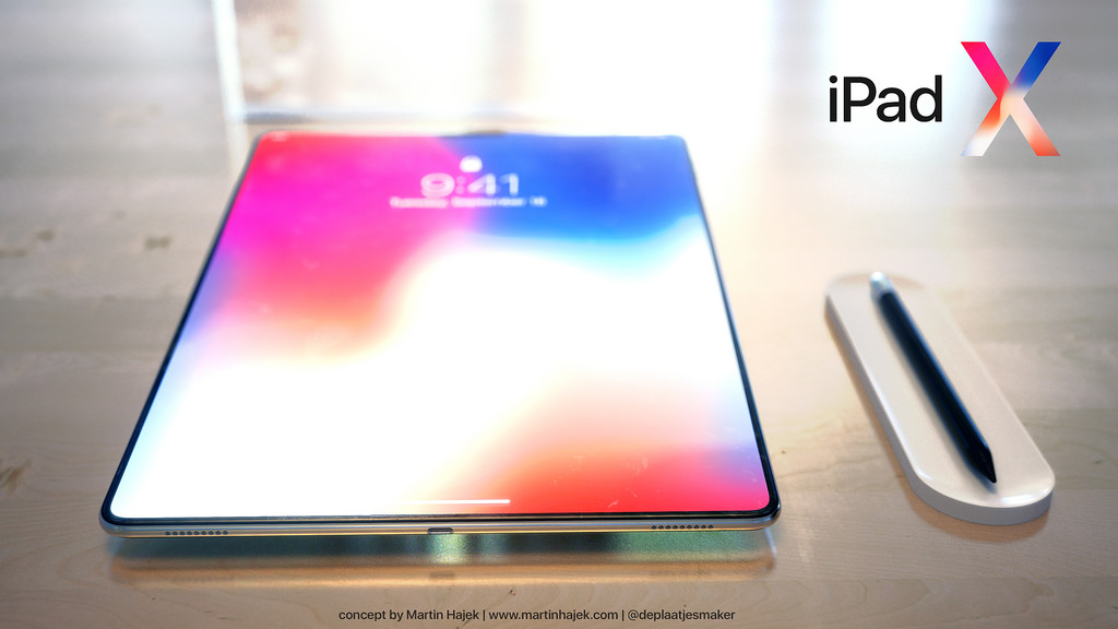 iPad X concept Martin Hajek