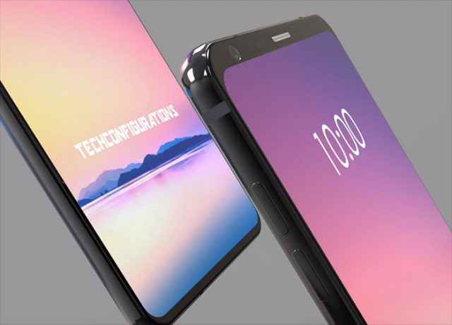 LG G7 concept Samsung Galaxy S9 smartphone