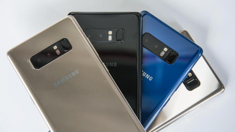 Samsung Galaxy Note 8 Samsung Galaxy Note 9 nom de code