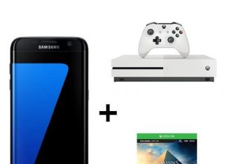 Pack Samsung Galaxy S7 Edge + Xbox One S+ Assassin's Creed Origins