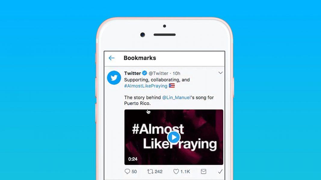 Twitter Bookmarks tweet