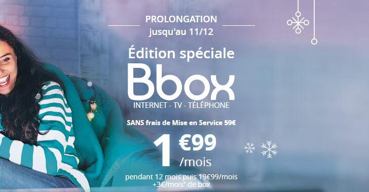 Bouygues Telecom Bbox ADSL série spéciale forfait ADSL Internet