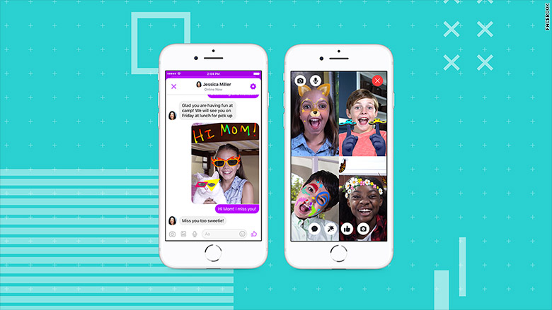 Application Facebook Messenger Kids