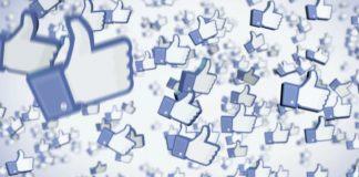 Facebook réseau social likes