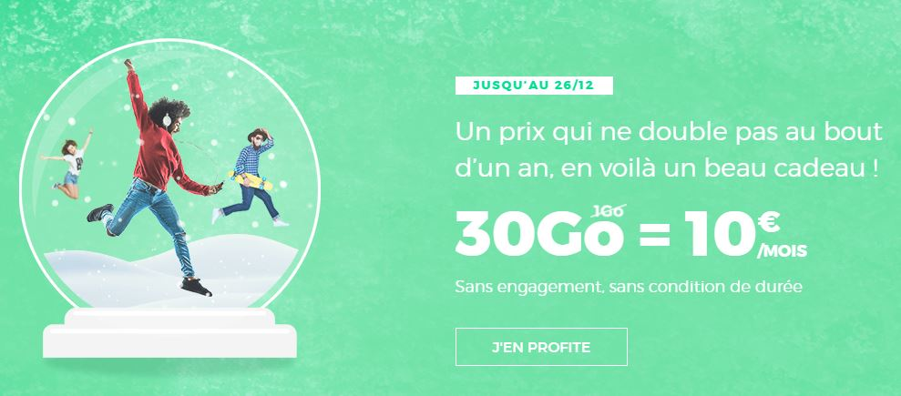 Forfait 30 Go RED by SFR
