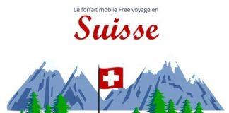Forfait Free 25 Go Suisse
