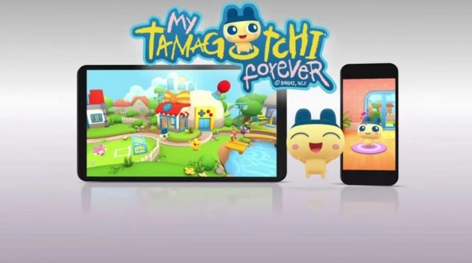 My Tamagotchi Forever en réalité augmentée sur Android et iOS