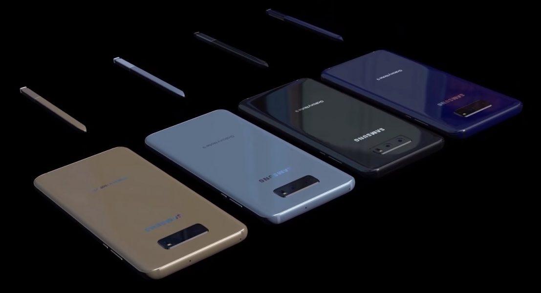 Samsung Galaxy Note 9 concept successeur du Galaxy Note 8