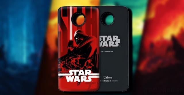 Star Wars Motorola Moto Z édition limitée