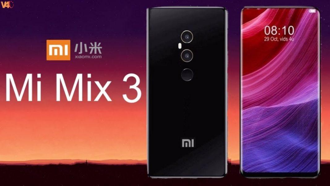 Xiaomi Mi Mix 3 smartphone Mi Mix 2 double capteur photo