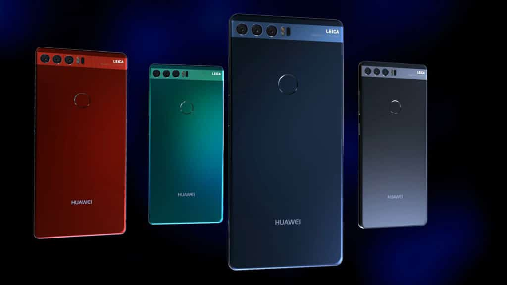 Huawei P11 MWC 2018 concept
