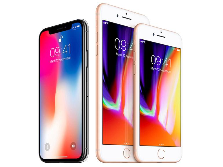 Contrairement aux ventes d'iPhone 8 et 8 Plus, celles de l' iPhone X plongent