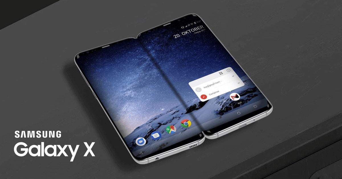 Samsung Galaxy X : le smartphone pliable aurait changé de nom et n'arriverait pas avant 2019