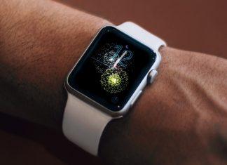 Apple Watch bonne année feu d'artifice