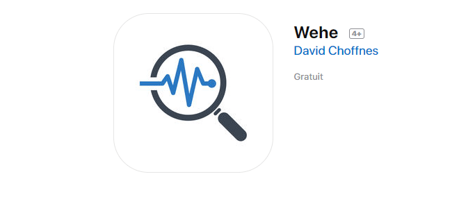 Application Wehe Apple neutralité du Net