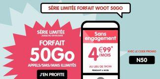 Forfait NRJ Mobile 50 Go