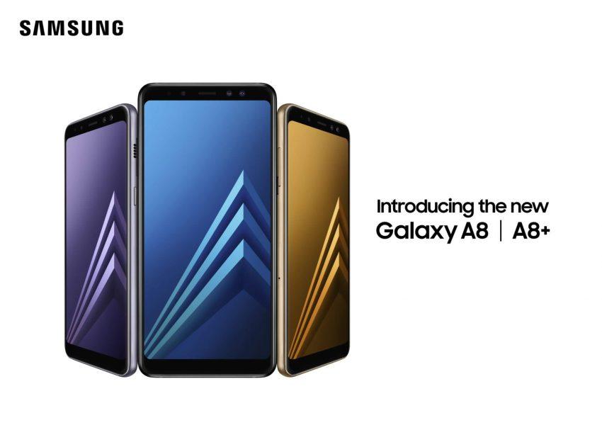 Samsung Galaxy A8 (2018) : ce qui le différencie du Galaxy S8