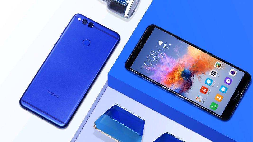 Honor 7X CES 2018 reconnaissance faciale Face ID smartphone