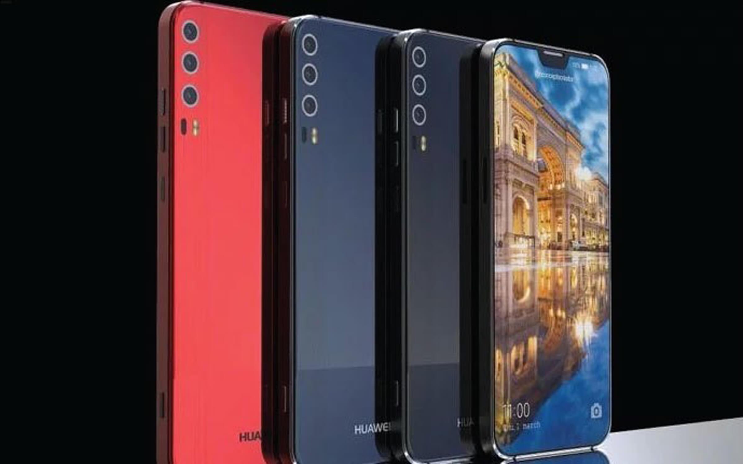 Le design du Huawei P20 se rapproche toujours autant de l'iPhone X