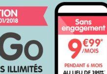 NRJ Mobile forfait sans engagement Woot 100 Go