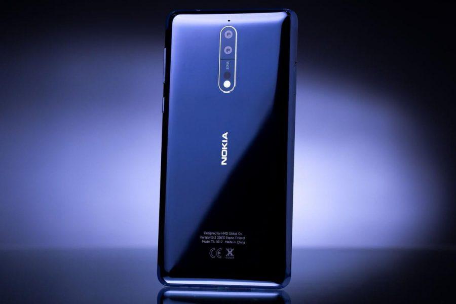 Nokia 8 iPhone 6