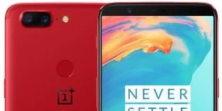 OnePlus 5T RED 128 Go
