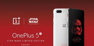 OnePlus 5T édition Star Wars