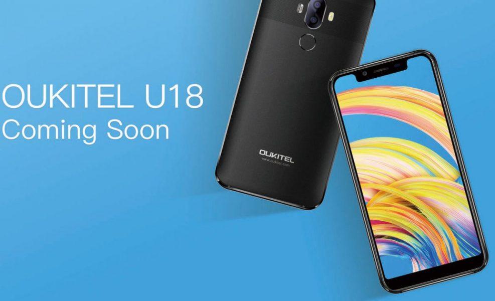 Oukitel U18 clone iPhone X