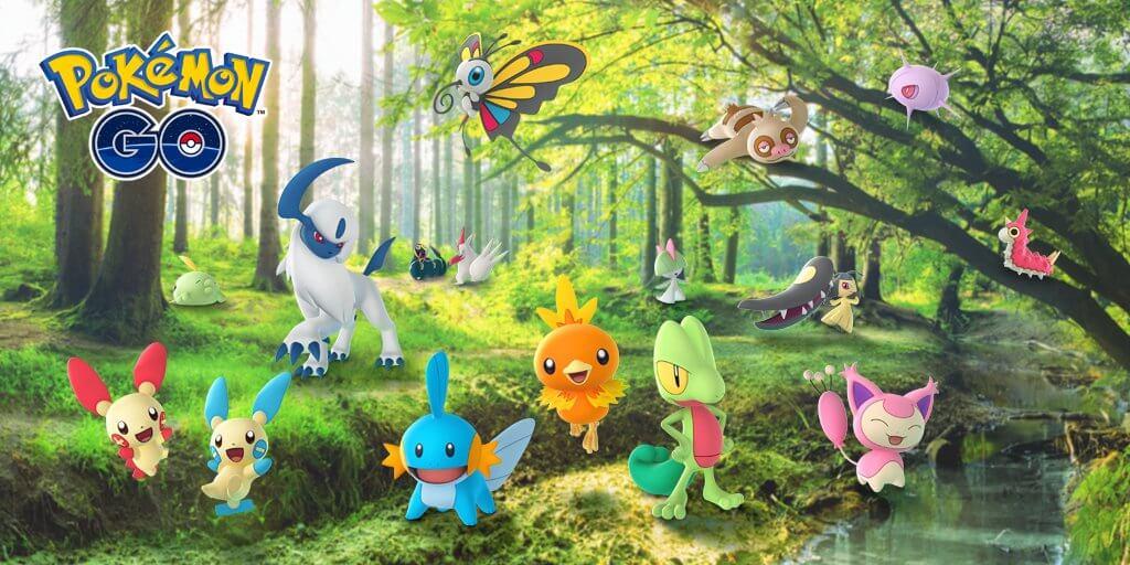 Pokémon Go application jeu mobile
