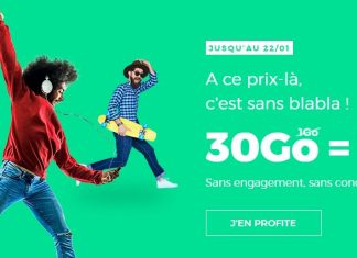 RED by SFR 30 Go 10 euros forfait