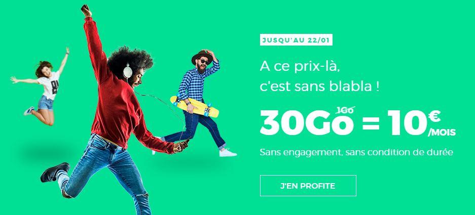red by sfr 30 go 10 euros encore trois jours pour profiter de ce forfait. Black Bedroom Furniture Sets. Home Design Ideas