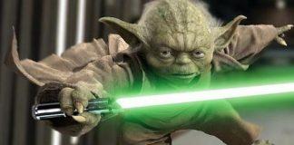 Sabre laser Yoda