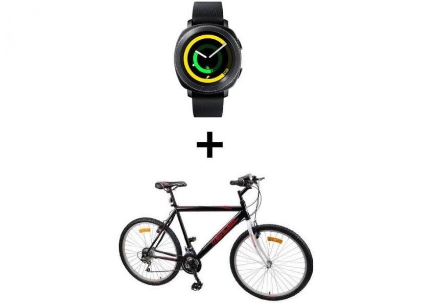 Samsung Gear Sport VTT Mercier montre connectée smartwatch