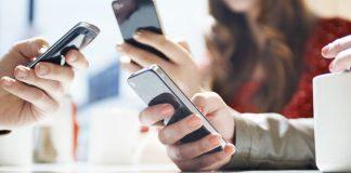 Smartphone utilisateur
