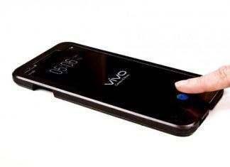Vivo smartphone lecteur d'empreintes sous l'ecran