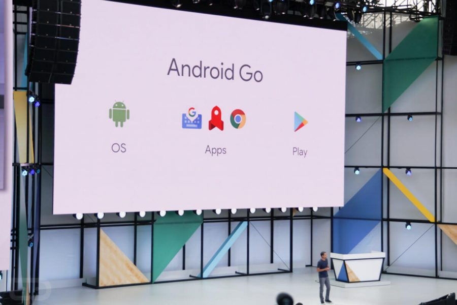 Android Go smartphone téléphones