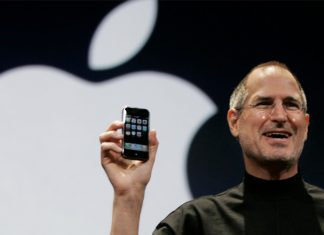 iPhone Steve Jobs