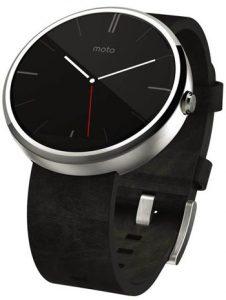 Motorola Moto360 Noir