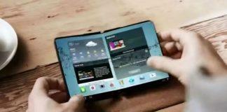 Concept smartphone pliable Samsung