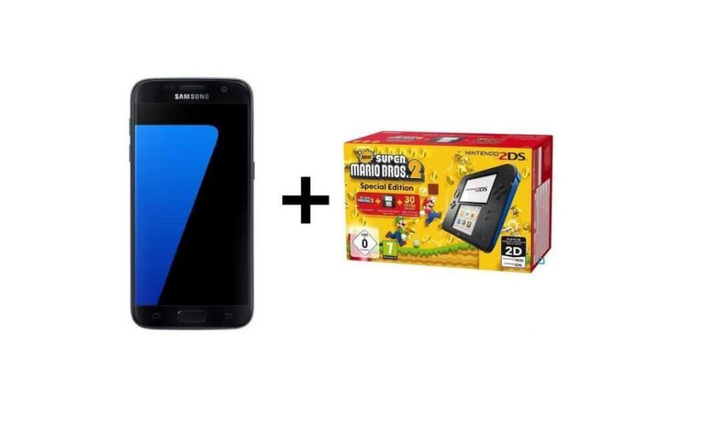 Galaxy S7 Edge Samsung Nintendo Super Mario Bros Soldes 2018