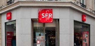 Boutique SFR forfait mobile