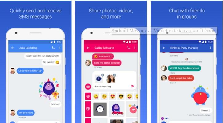 Android Messages : envoyer un SMS depuis un PC sera bientôt possible