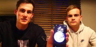 iPhone X : Face ID testé par deux amis