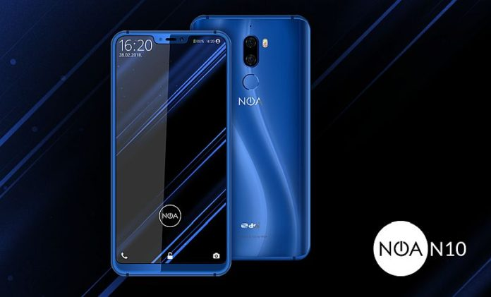 NOA N10 696x421 - MWC 2018 : Best-of des meilleures clones du Galaxy S9 et de l'iPhone X