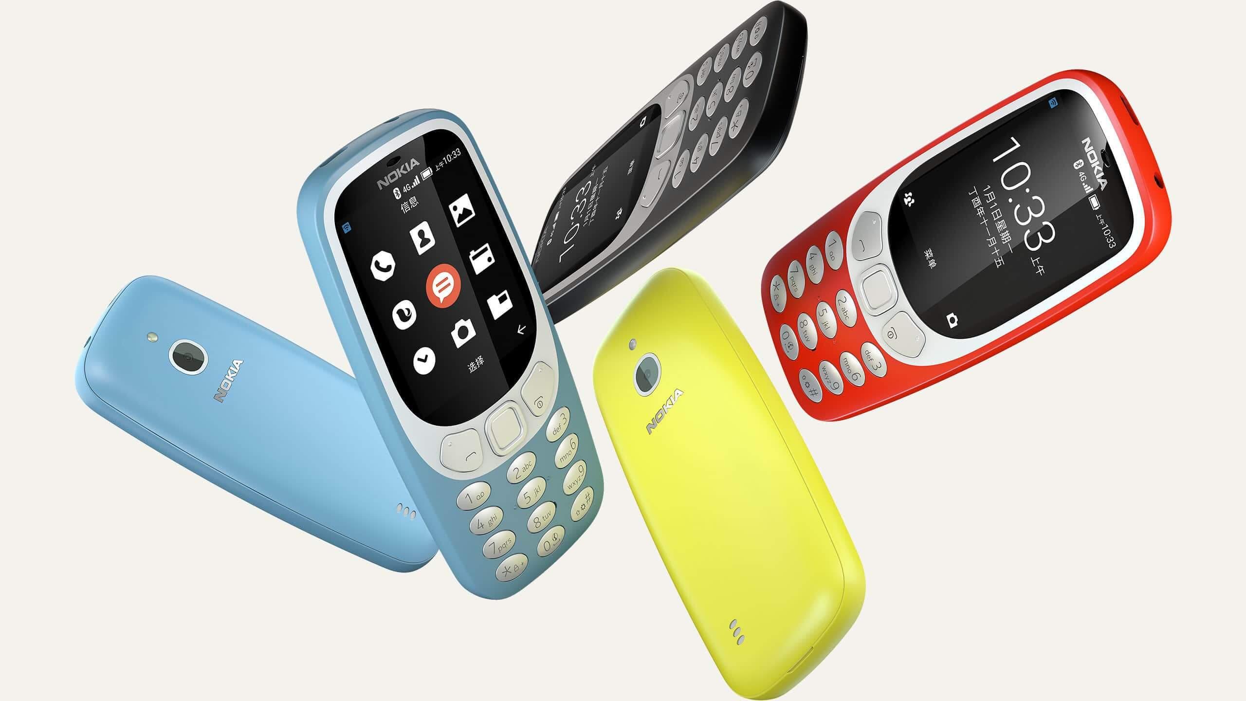Un module 4G et une puce Bluetooth 4.0 pour le Nokia 3310 de 2018 ?