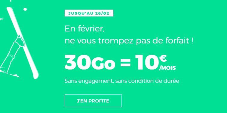 RED by SFR : 30 fois plus de data sur son forfait à 10 euros !