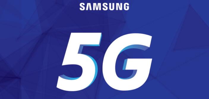 Samsung : une 5G et un smartphone d'ici 2019