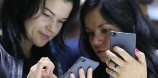 Smartphone utilisatrices